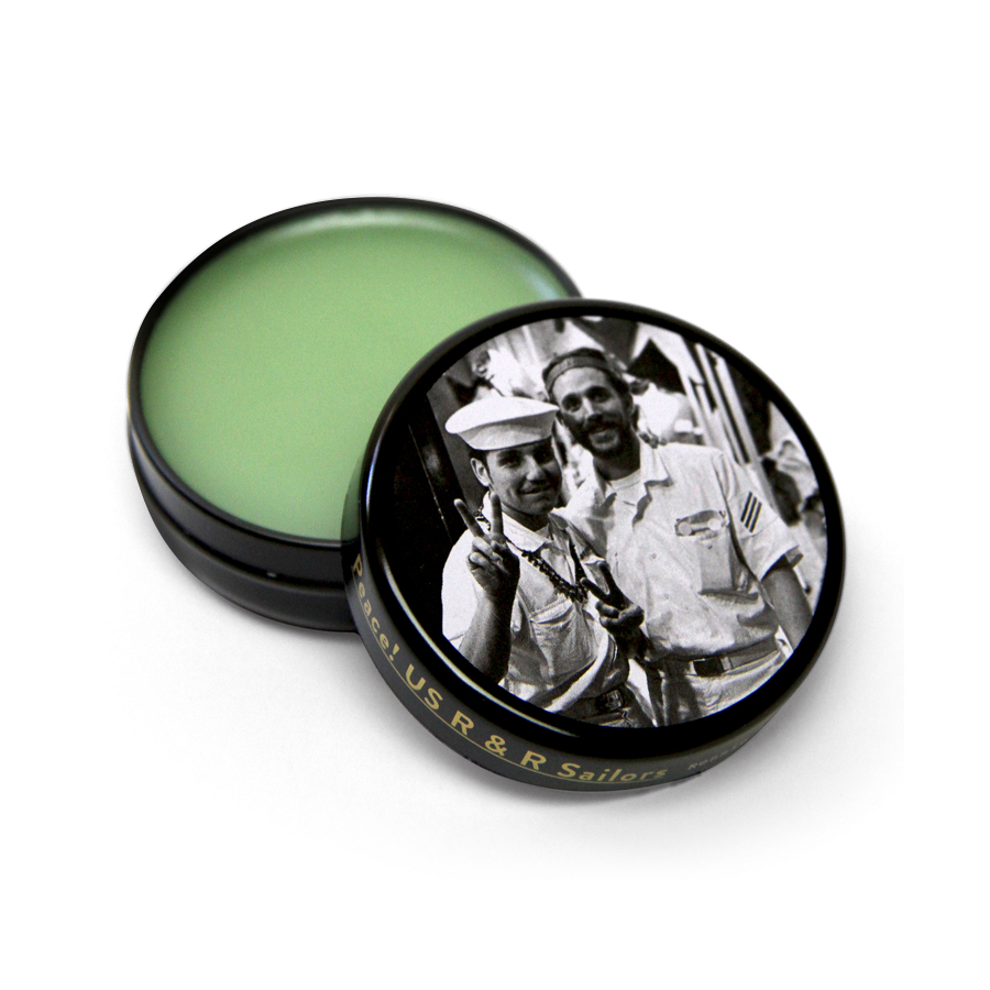 Series: Rennie Ellis Peace! US R&R Sailors Wild Mint Lip Balm
