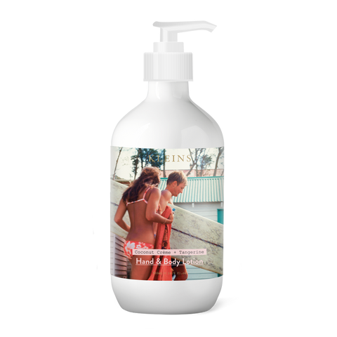 Surfer with Girl Hand & Body Lotion