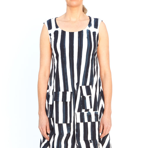 Dress in Bluestripe 3440925-336