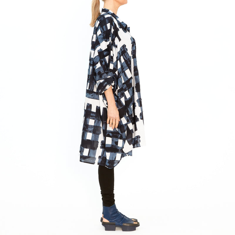 Shirt Dress in Martinique Print 3600907-301