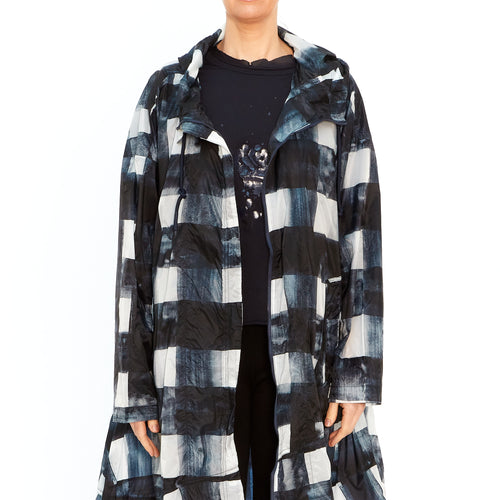 Raincoat in Check Martinique Print 3271201-301
