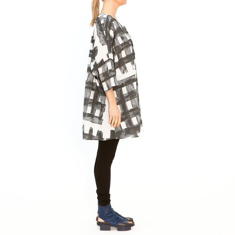Woven T-Shirt Dress Rock Print 3600911-251