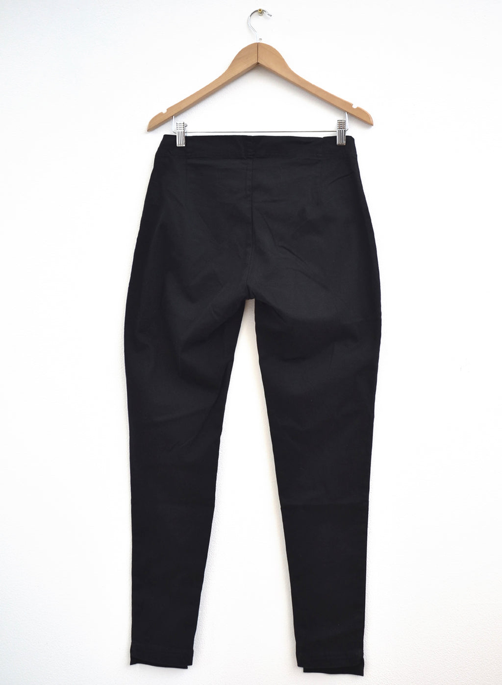 Rundholz Black Label Black Cotton Pant 218-3320112-100