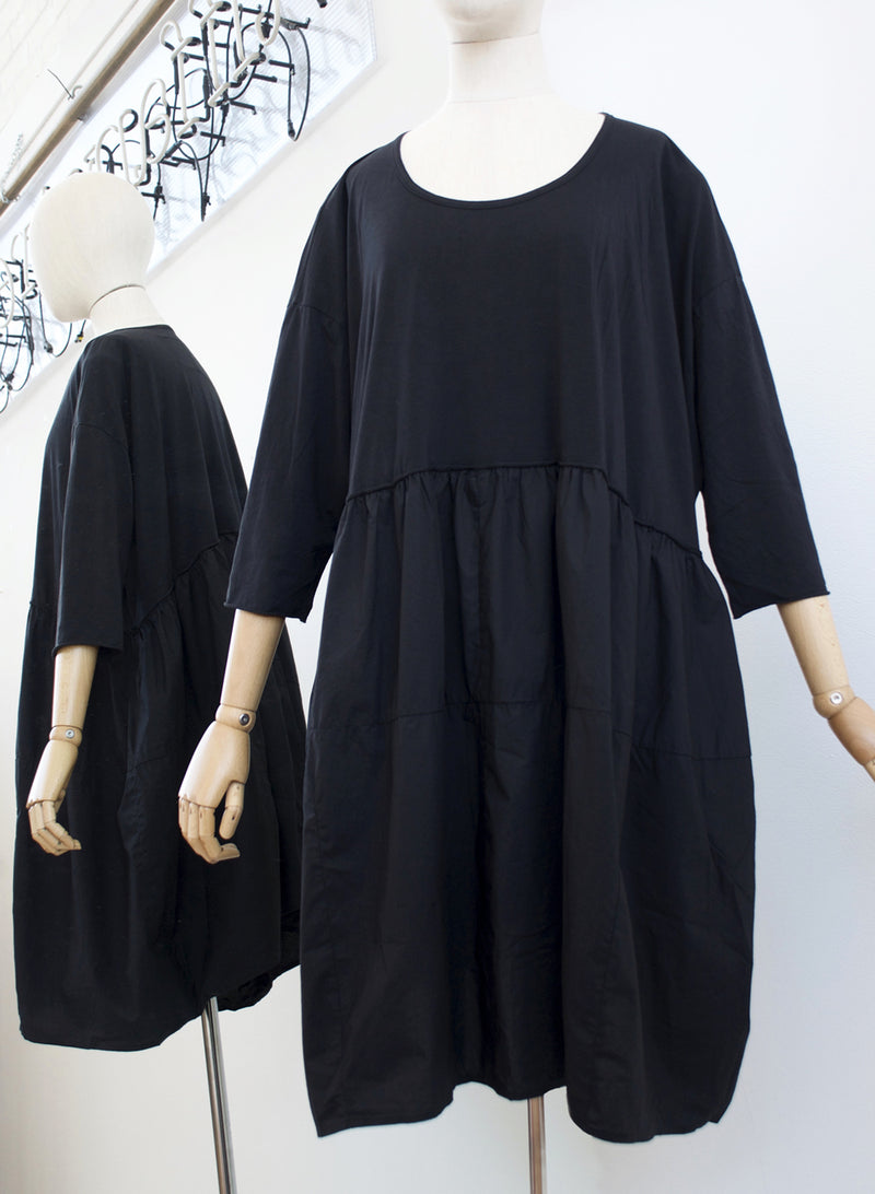 Rundholz Black Gathered Dress 3360903-100