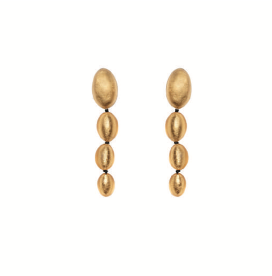 Monies, Ingrid Earclips Gold - Tiffany Treloar