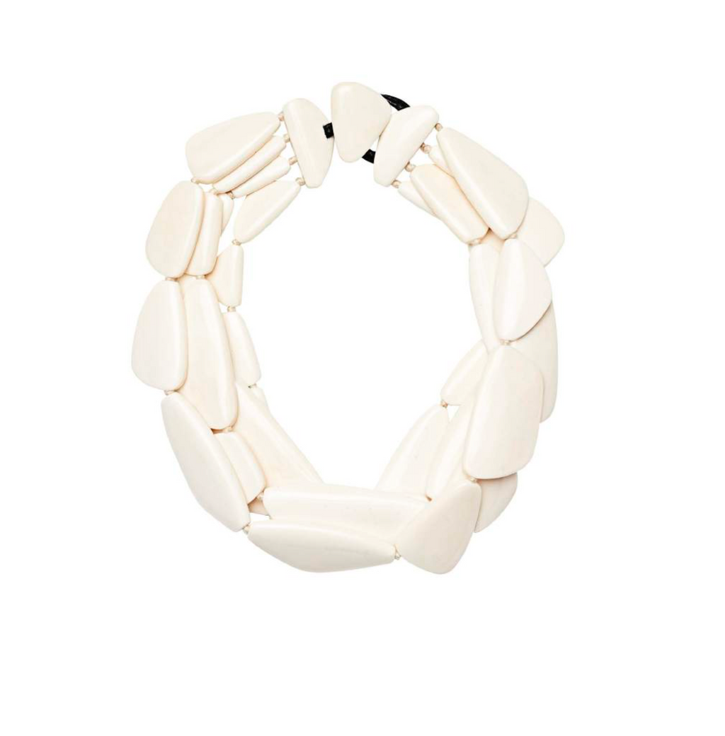 BANGALORE NECKLACE WHITE