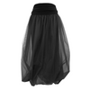 Tiffany Treloar, Black Tulle Twist Bubble Skirt - Tiffany Treloar