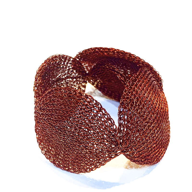 Soninke, French dark copper Cuff - Tiffany Treloar