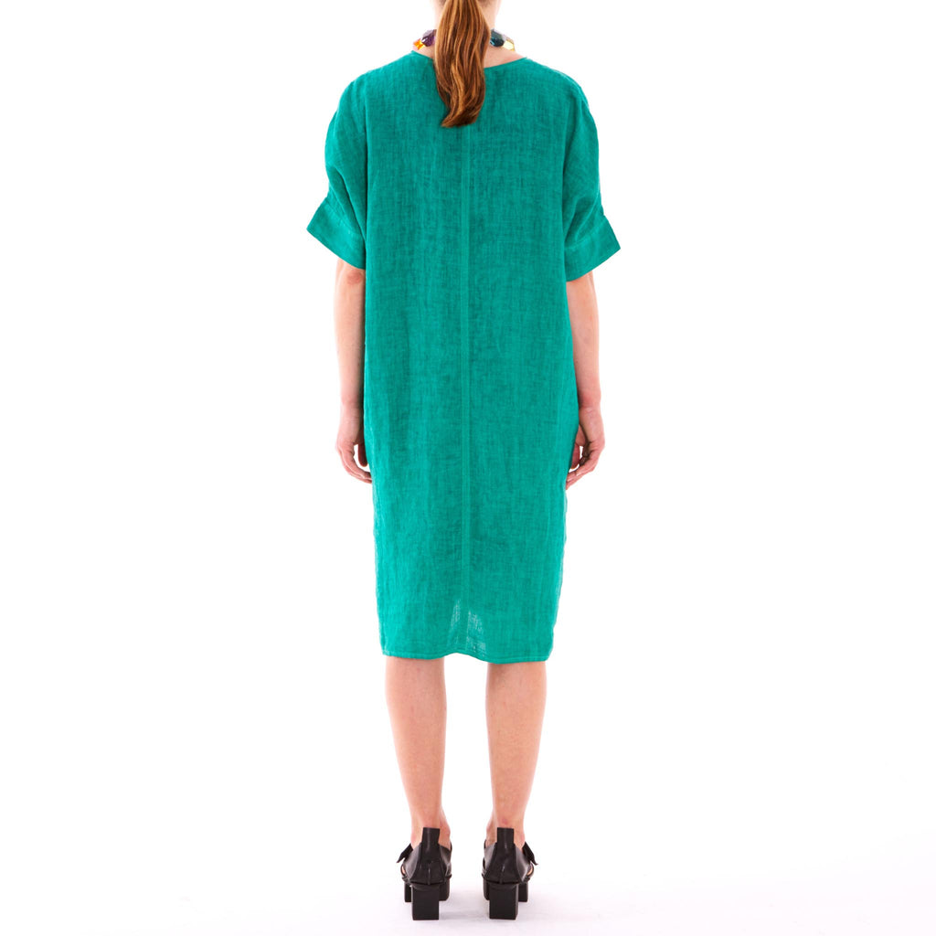 Elemente Clemente 619055 Draga emerald dress