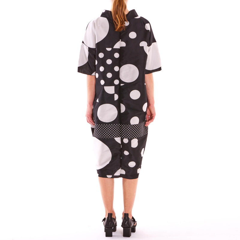 Tiffany Treloar, Lunar Spot Taffeta Dress - Tiffany Treloar