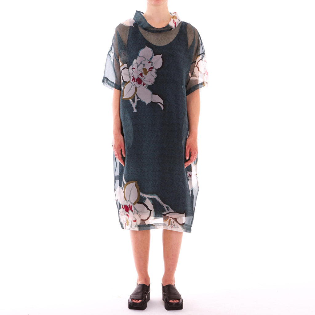 Mieke Jade Japonica Dress