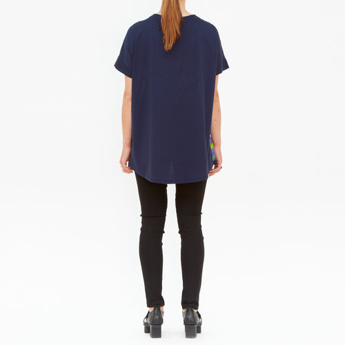 Tiffany Treloar, Water Silk & Cotton Tee - Tiffany Treloar