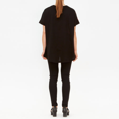 Tiffany Treloar, Walk Silk & Cotton Tee - Tiffany Treloar