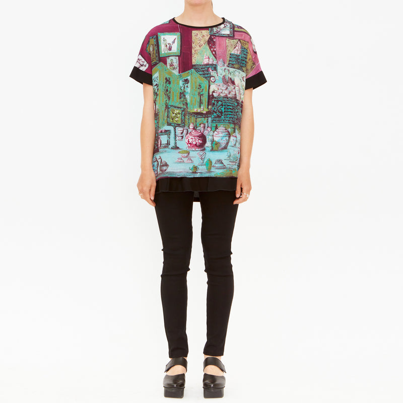 Tiffany Treloar, Emporium Silk & Cotton Tee - Tiffany Treloar