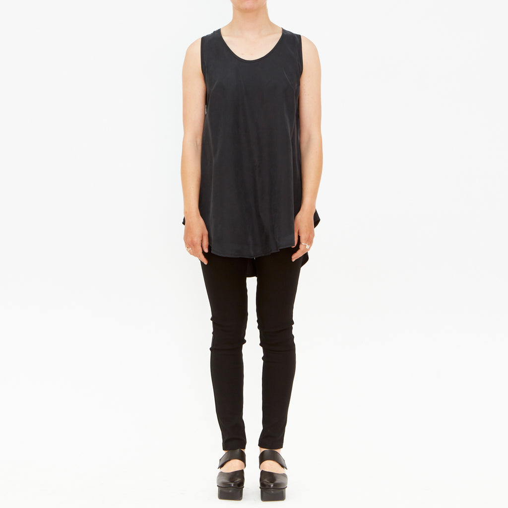 Tiffany Treloar, Charcoal Tank - Tiffany Treloar