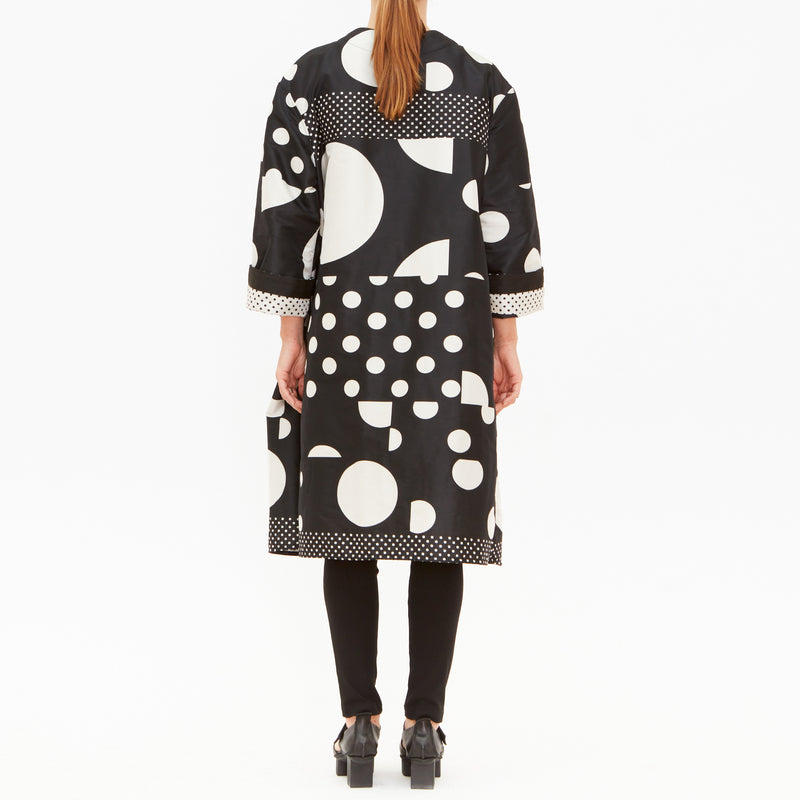 Tiffany Treloar, Lunar spot reversible Coat - Tiffany Treloar