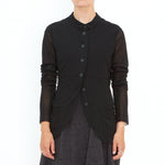 Rundholz, Black Mesh Jacket 3341106-100 - Tiffany Treloar