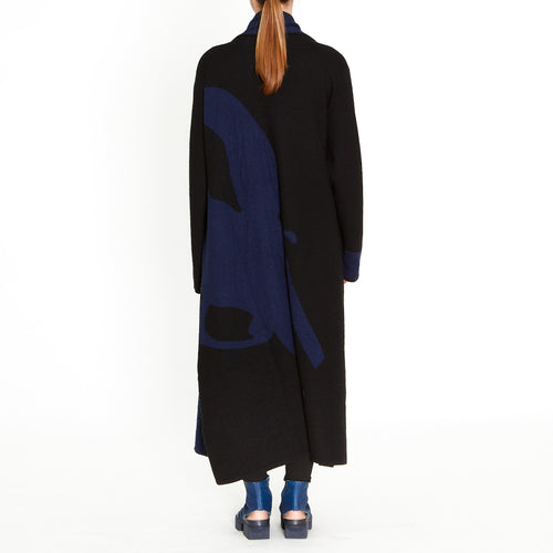 Moyuru, Black/Blue Cardi 193313-13 - Tiffany Treloar