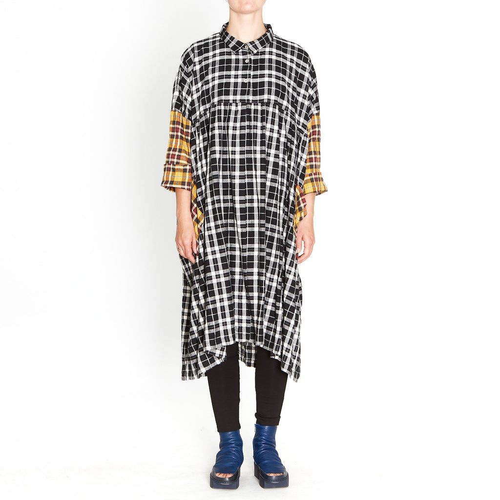 Tiffany Treloar, Macie Black and White Check Dress - Tiffany Treloar