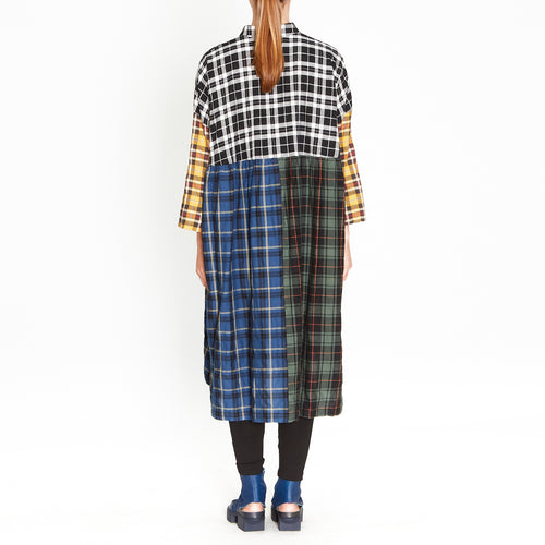 Tiffany Treloar, Macie Multi Check Dress - Tiffany Treloar