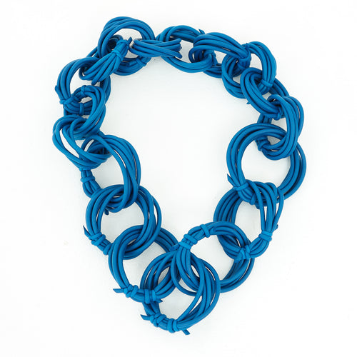 Neo 482 Olympic Cobalt Loop Necklace