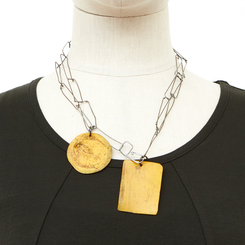 Dora Haralambaki, HD3-Oxy-Yellow Necklace - Tiffany Treloar