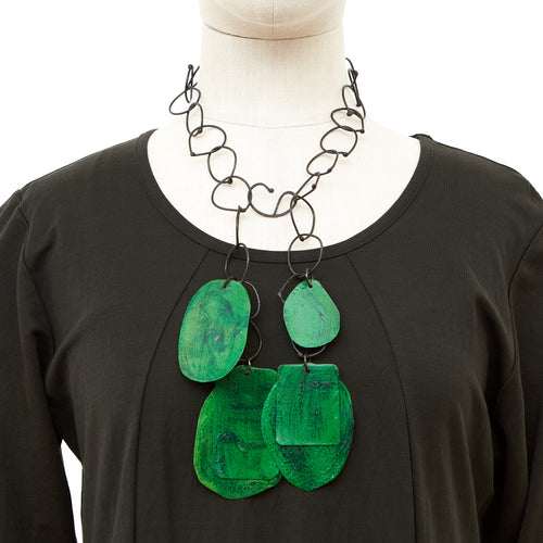 HD13-Oxi-Green Necklace