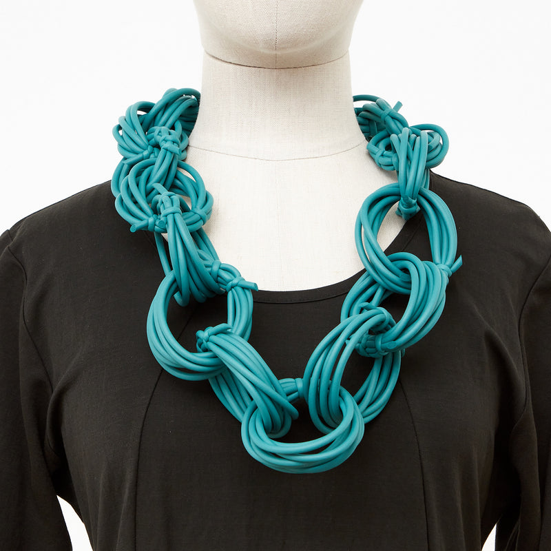 Neo 482 Olympic Mint Loop Necklace