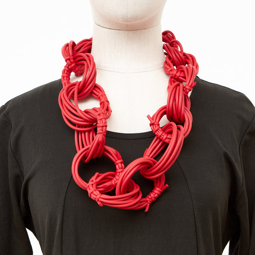 Neo 482 Olympic Red Loop Necklace