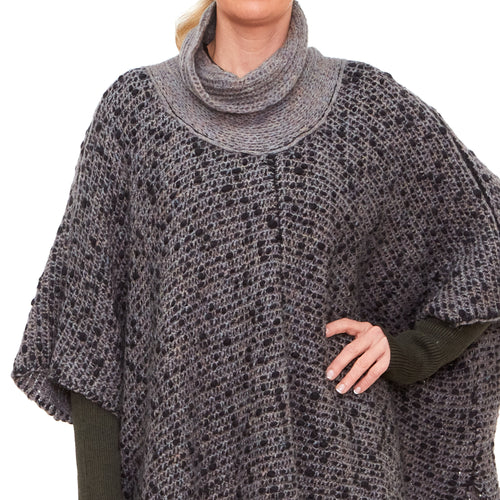 Crea Concept, 32272-920 Knitted Poncho - Tiffany Treloar