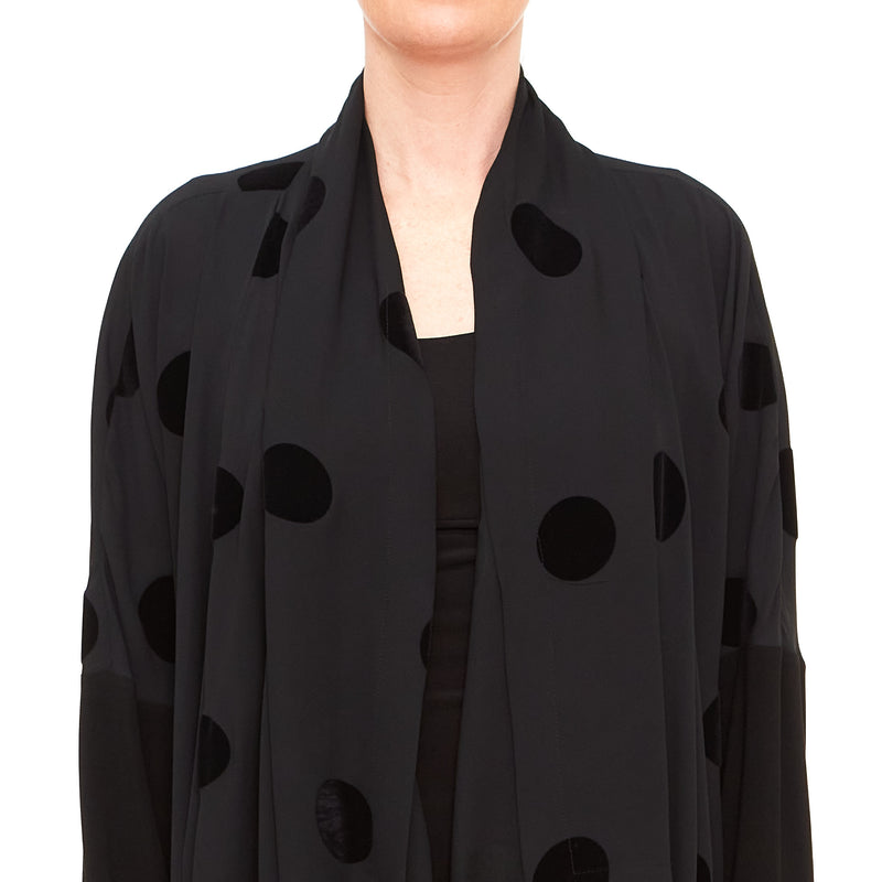 Crea Concept, 32192-900 Black Lightweight Coat - Tiffany Treloar