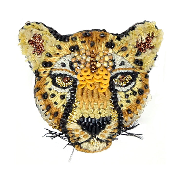 Trovelore, Cheetah Brooch - Tiffany Treloar