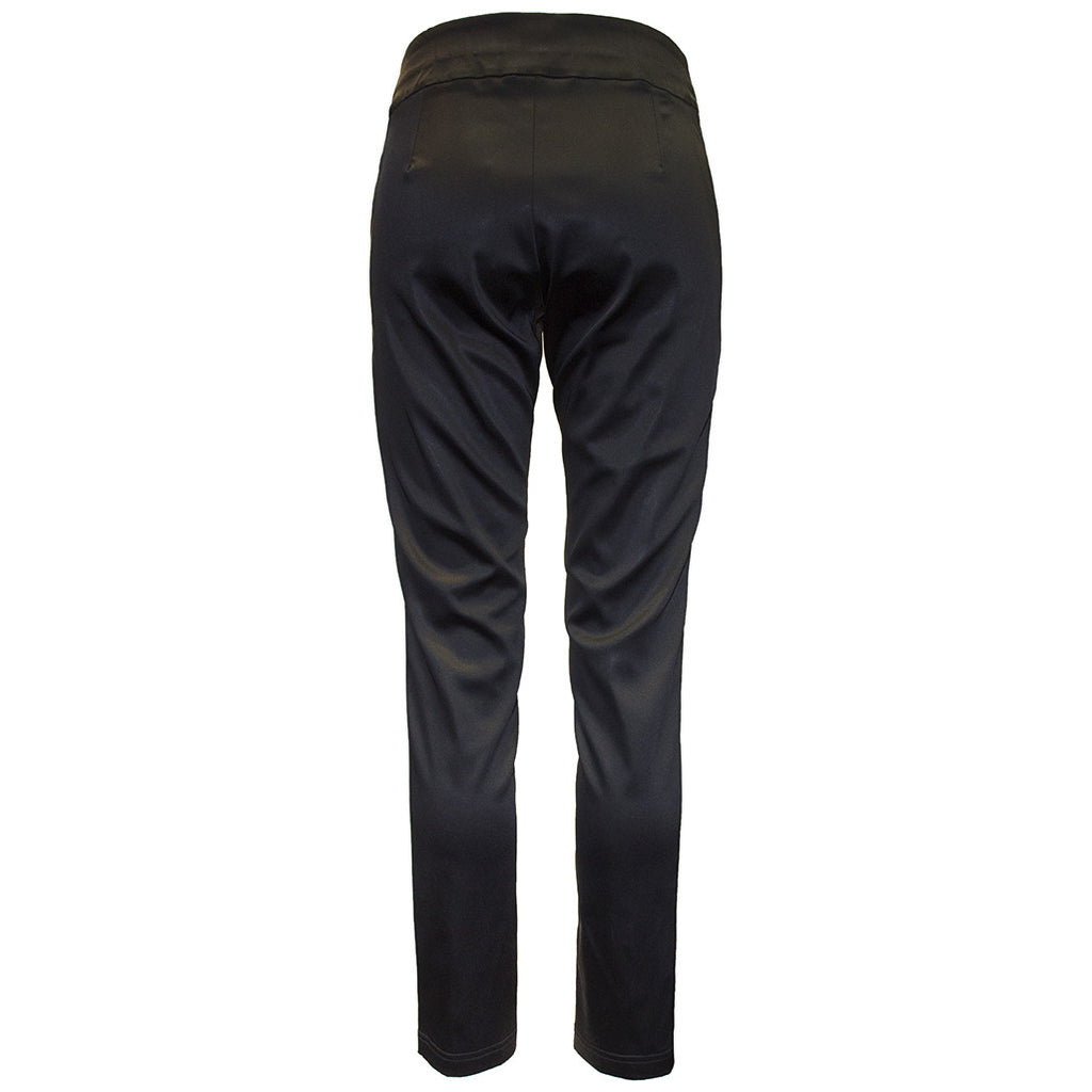 Tiffany Treloar Acetate Skinny Nightclubbing Pant-Black