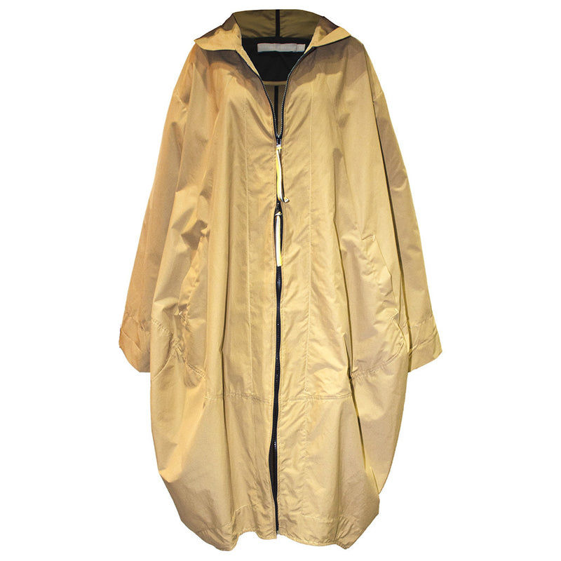 Tiffany Treloar Nylon Capsule Raincoat-Caramello