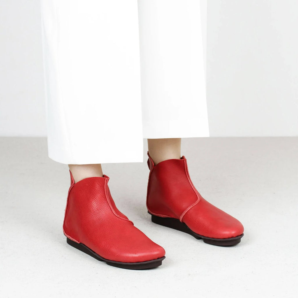 Trippen Hawk Red boots