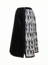 Tiffany Treloar, Cotton Zipper Skirt 'Peace' and Black - Tiffany Treloar