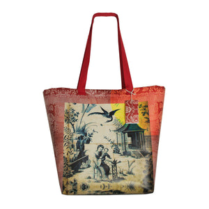 Shopping Tote Chinoiserie