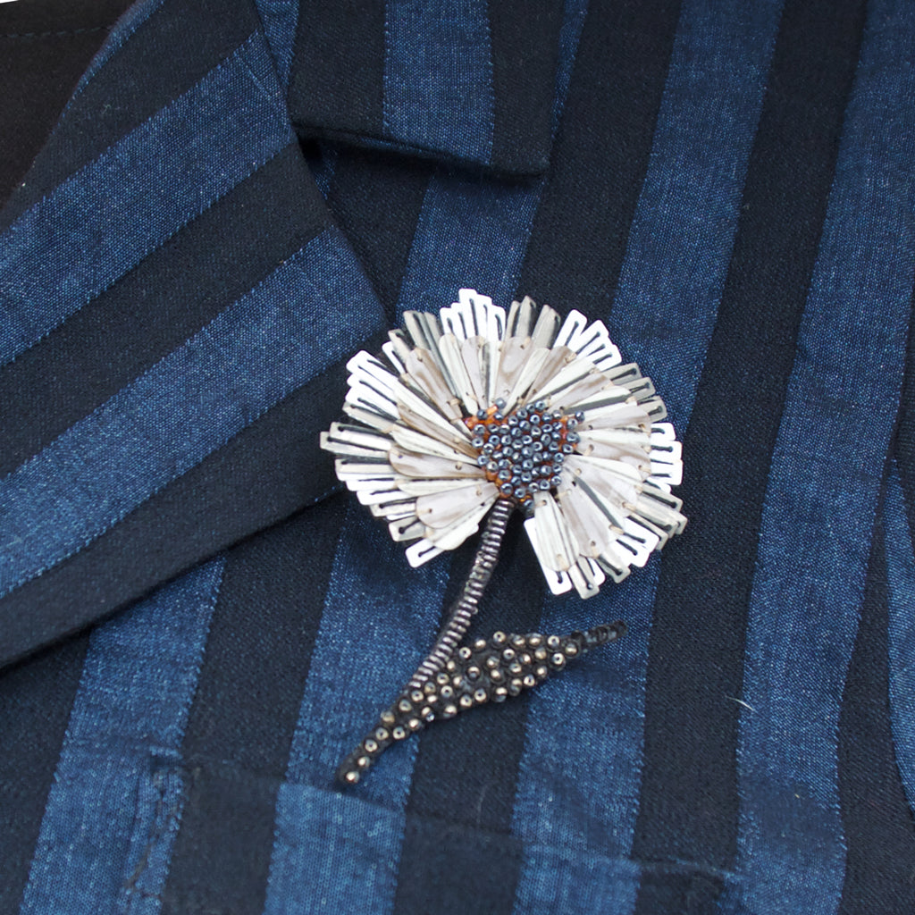 Trovelore, Ruffle Flower Brooch - Tiffany Treloar