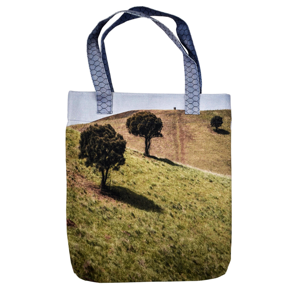 Tiffany Treloar, Printed Canvas Bag Rolling Hills - Tiffany Treloar