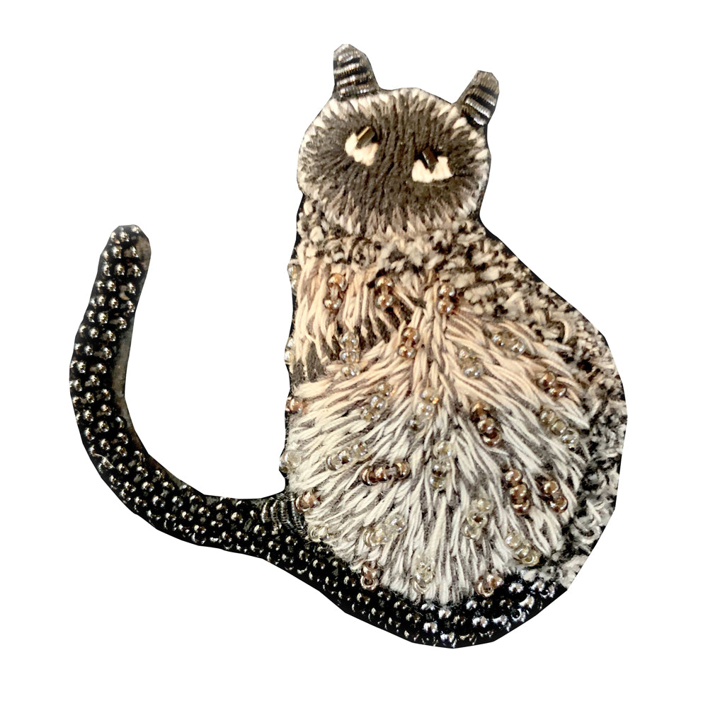 Trovelore, Siamese Cat Brooch - Tiffany Treloar