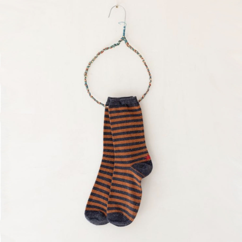 Hop Socks, Sox Blue/Copper - Tiffany Treloar