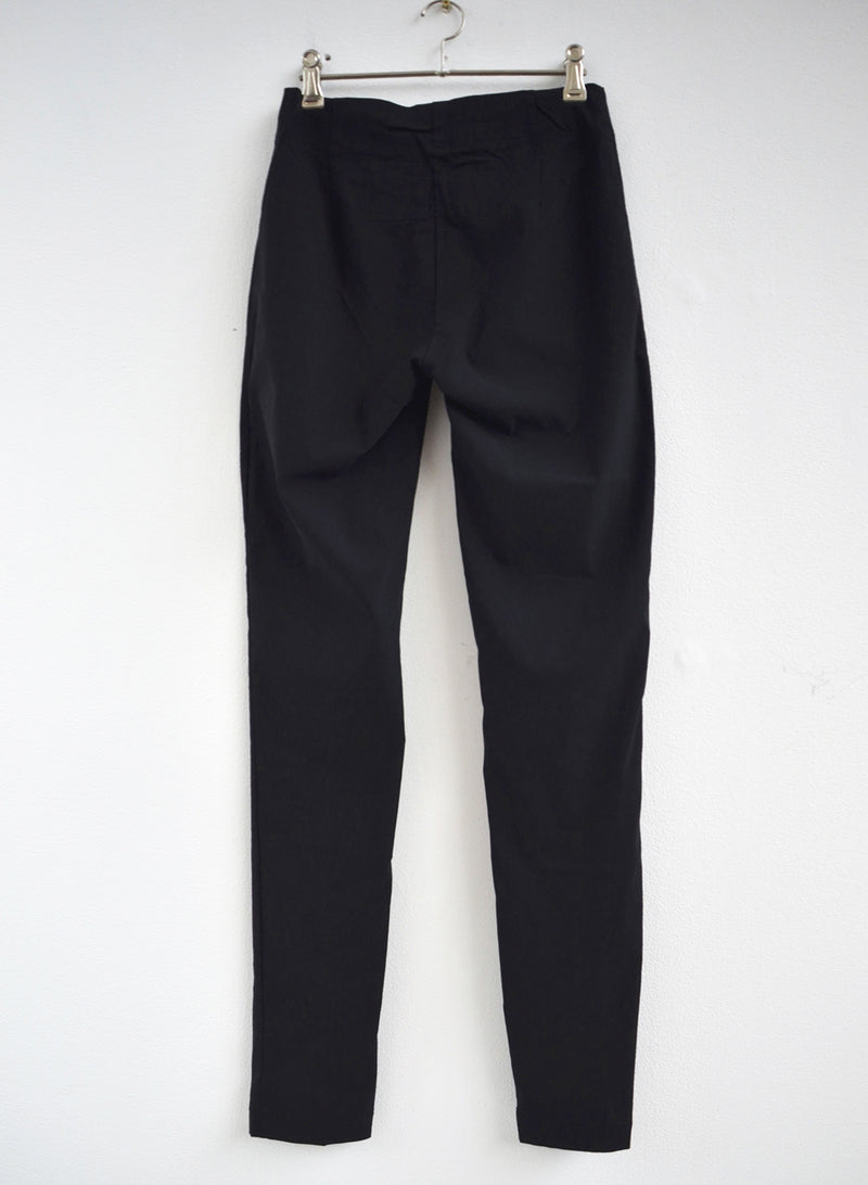 Rundholz Black Skinny Stretch Pant 3440103-100 back