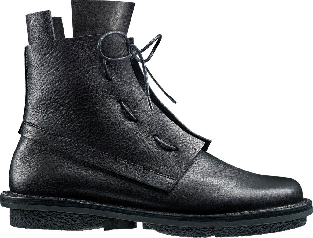trippen solid black boot