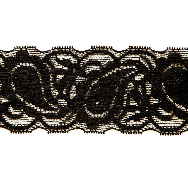 "2 1/2"" Wide Stretch Lace (151)"