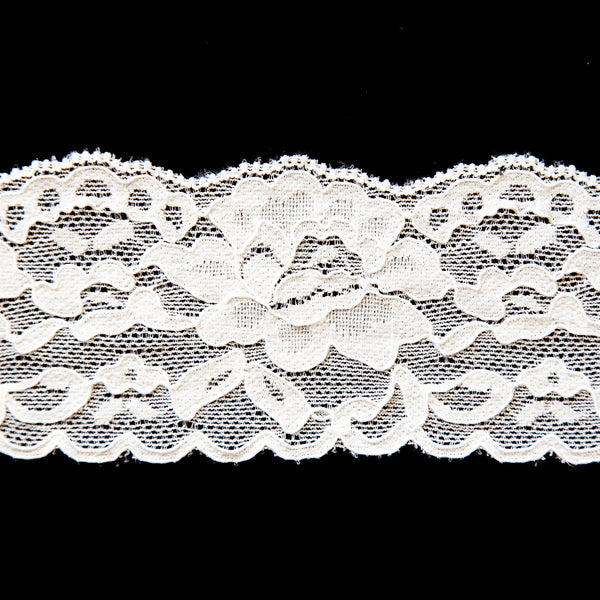 "2 1/2"" Wide Stretch Lace (166)"
