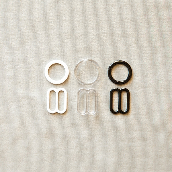 "1/2"" ring and slide set"
