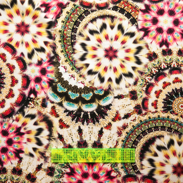 Yardage Fashion Fabric - ITY hippie bursts