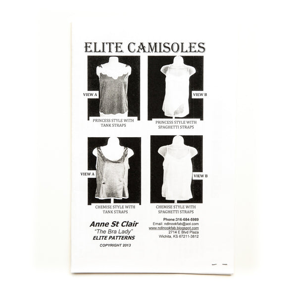 Elite Camisole Pattern