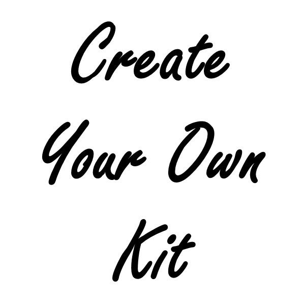 CREATE YOUR OWN lace & sheer cup lining bra kit
