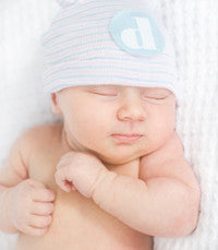 The Davis Boy's Newborn Hospital Hat